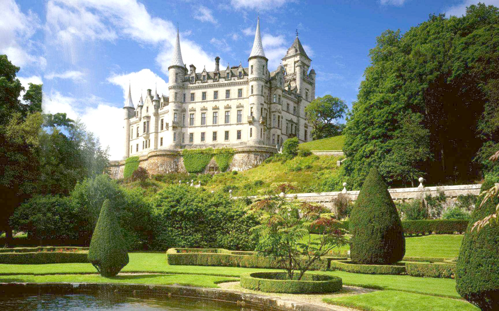 Dunrobin Castle Golspie Highlands Scotland Affair